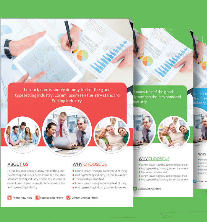 healthcare-insurance-flyer