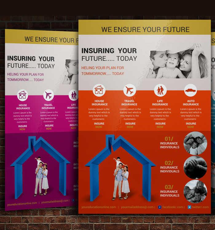 home-insurance-poster-flyer