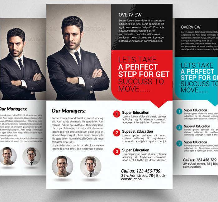 insurance-management-flyer