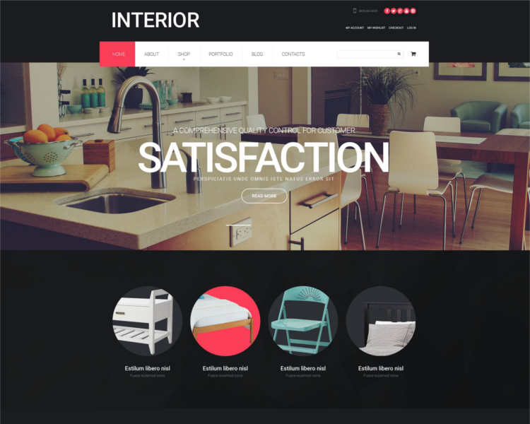 10 Best Furniture Php Templates Themes Free Premium