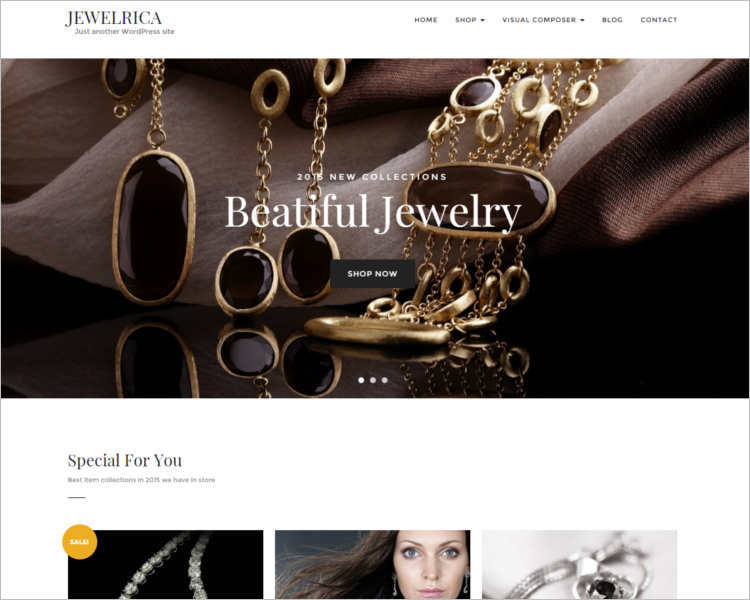 jewelrica-ecommerce-wordpress-theme-template