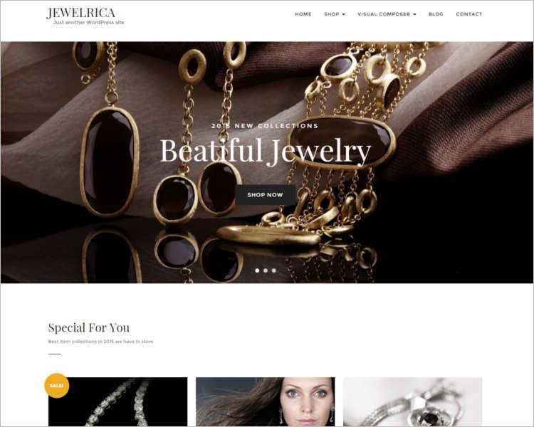jewelrica-ecommerce-wordpress-theme-template