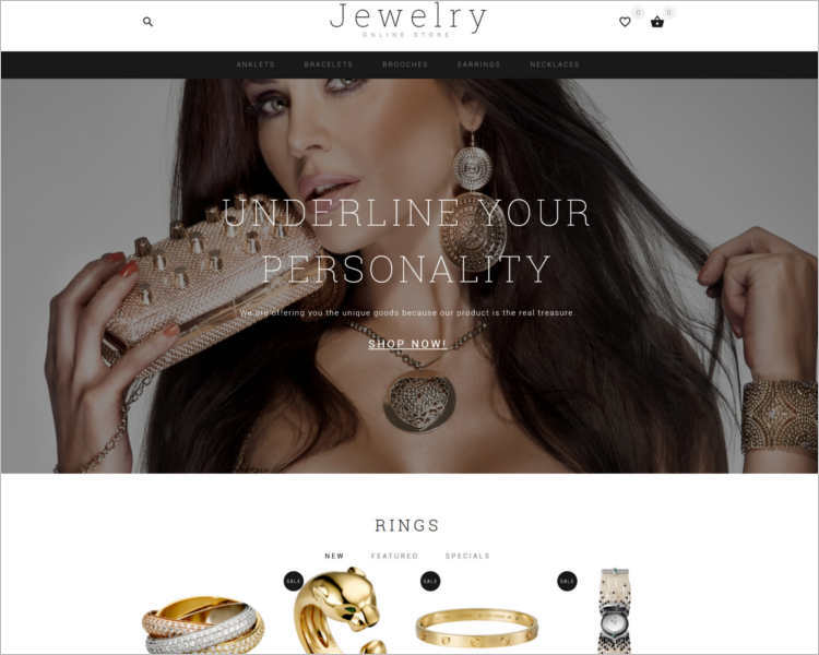 jewelry-showcase-opencart-theme-template