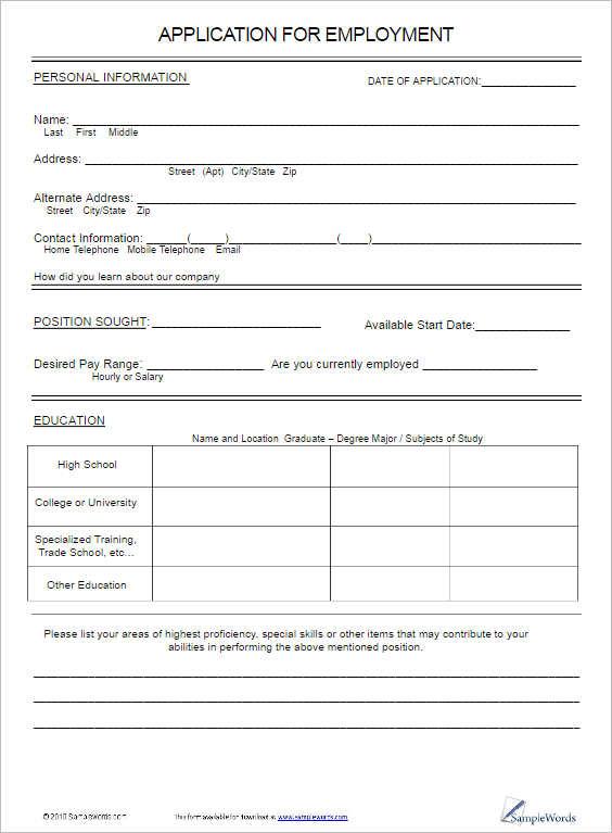 job-application-for-employment