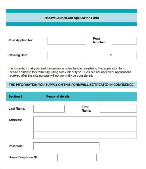 job-application-word-document-template