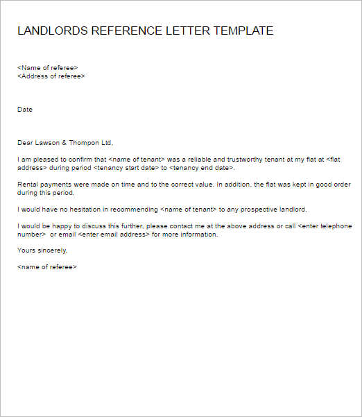 landlords-reference-letter-template