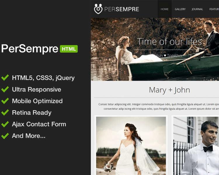 minimal-event-website-template