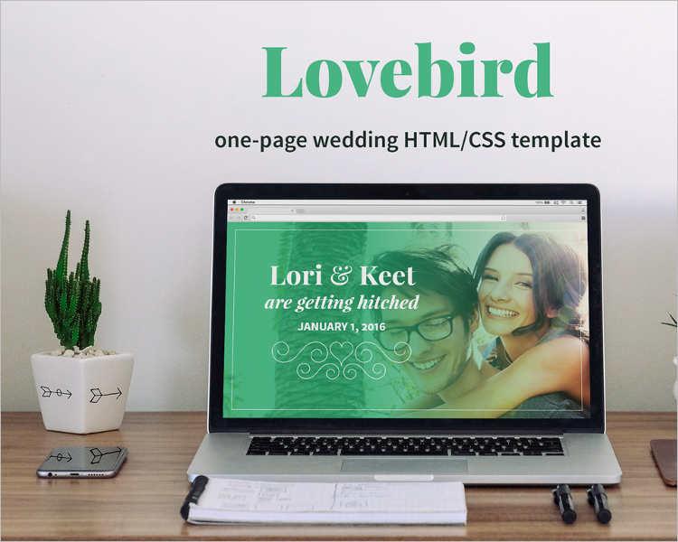 minimal-wedding-onepage-html5-website-template