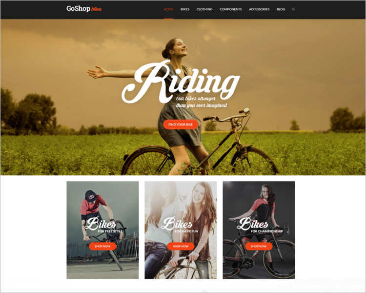 modern-bicycle-html5-website-template