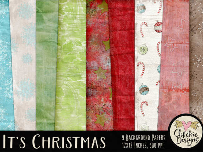 multiple-christmas-background-textures