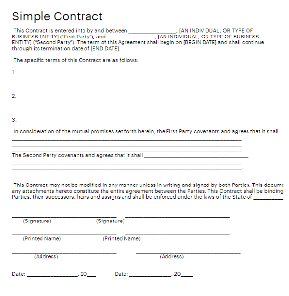 Multistate Construction Contract Form
