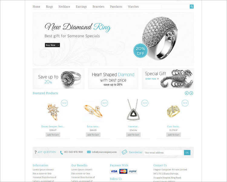 new-diamond-ring-jewelry-php-website-template
