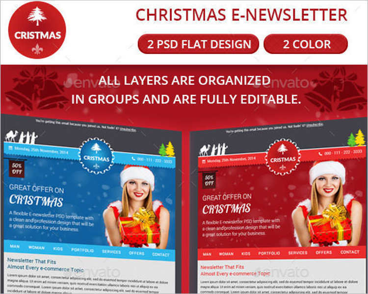 newletter-christmas-email-template