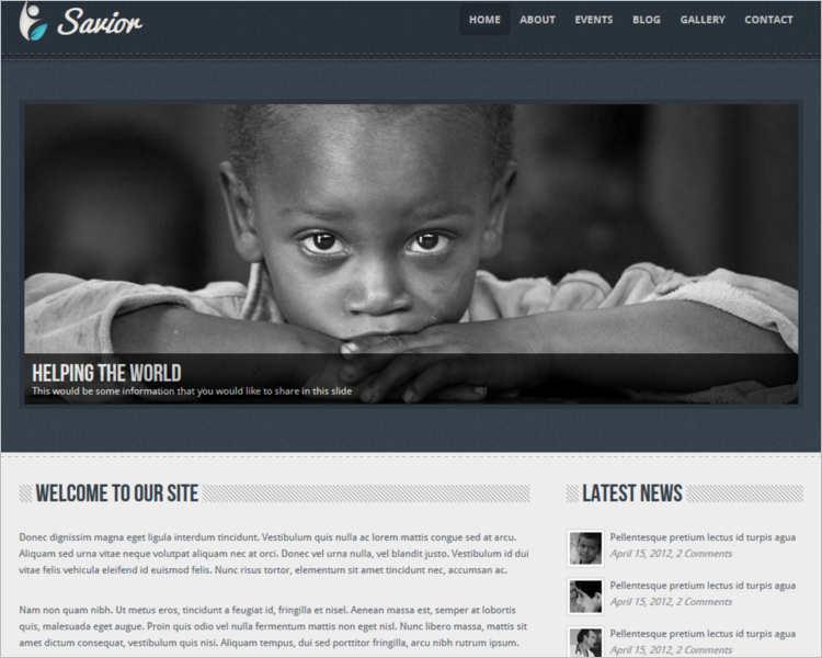 non-profit-savior-html-template