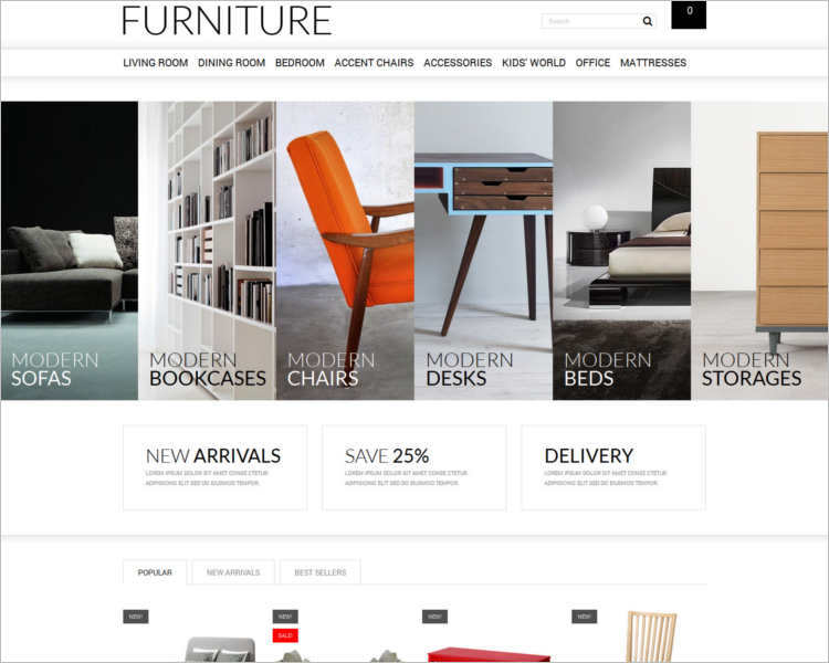 online-shopping-store-prestashop-theme-template