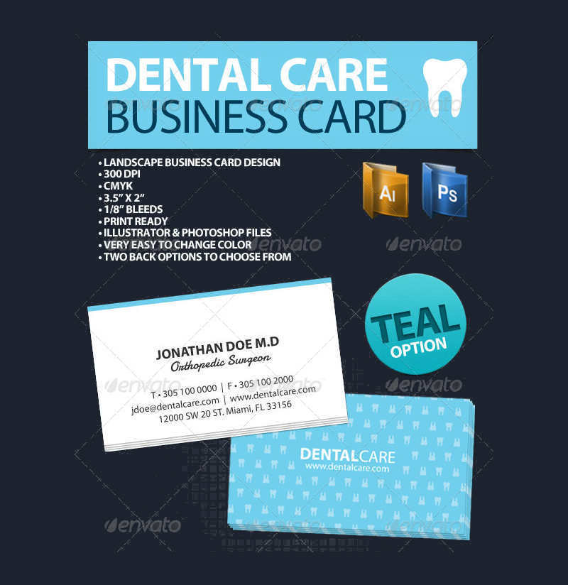 orthodontist-dental-care-business-card-template