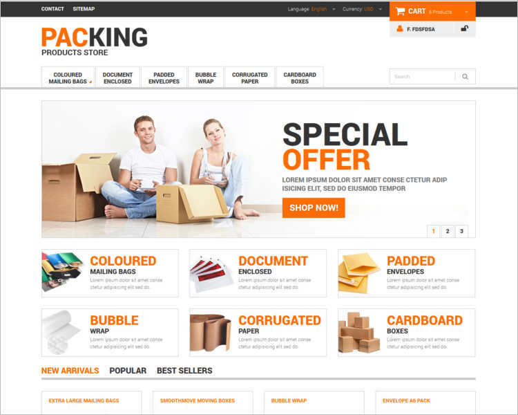 packing-product-store-prestashop-templates