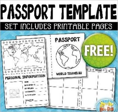 Passport Template Example