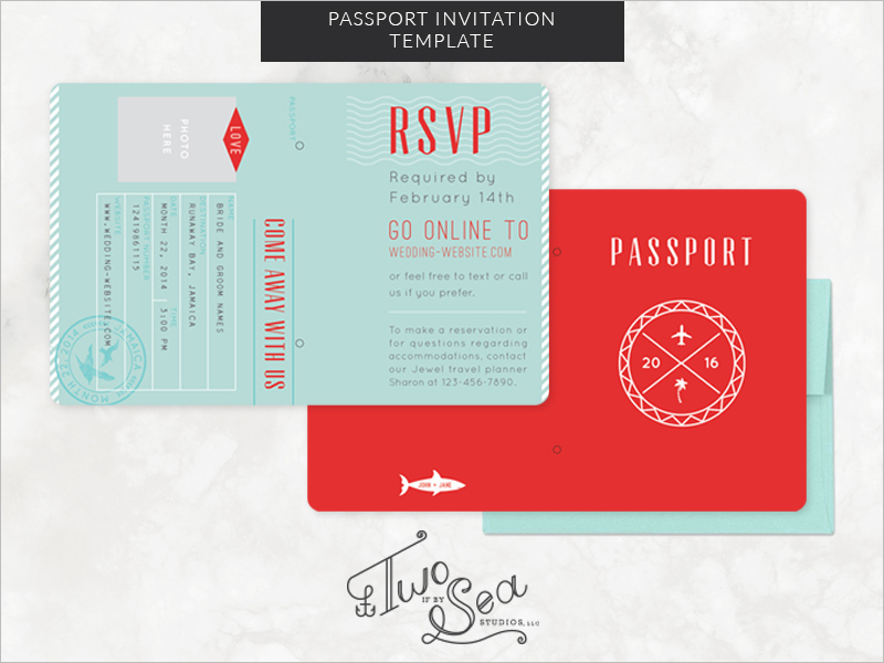 Passport Templates Free Premium Templates Creative Template