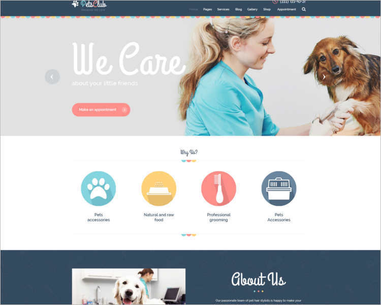pet-animal-care-center-theme-template