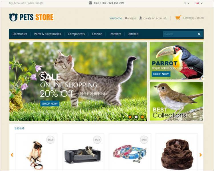 pet-animal-store-template