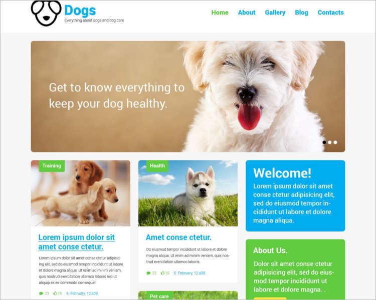 pet-dog-responsive-php-theme-template