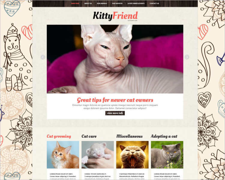 pet-kitty-animal-store-theme-template