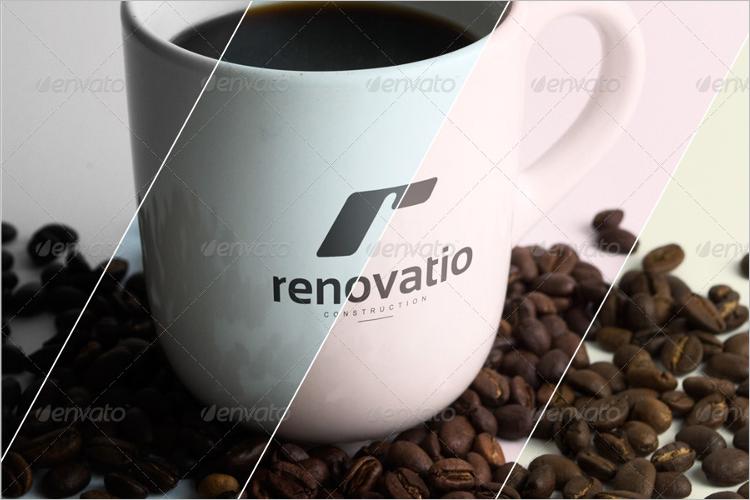 Photorealistic Logo Mockup Download