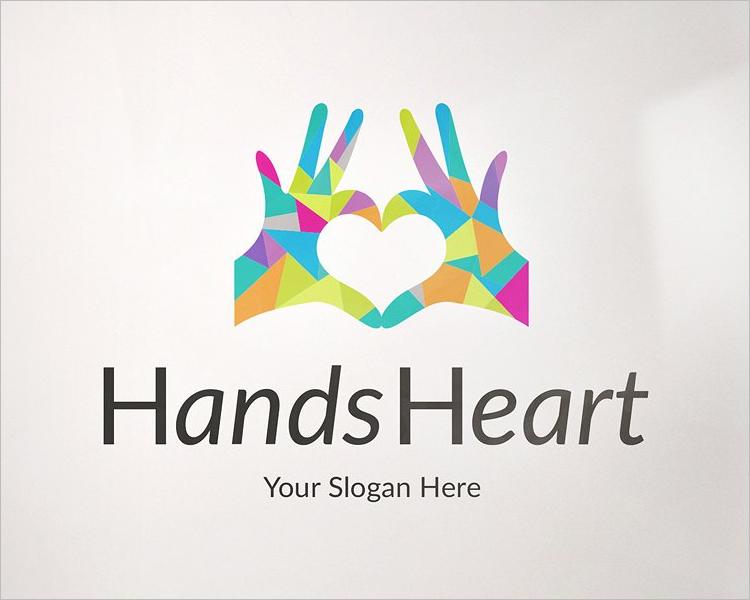 Plastic Logo Mockup Design