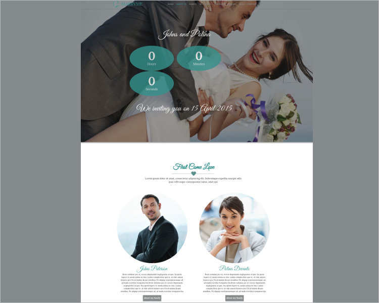 portfolio-wedding-event-website-template