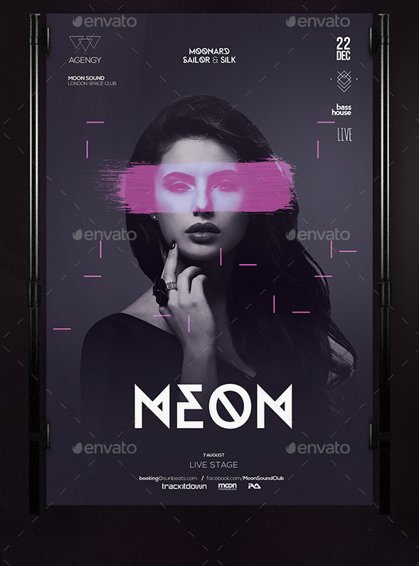 Club Flyers Templates Download  Free  Premium  Creative Template
