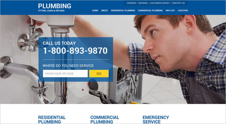 Premium HTML Landing Page Template