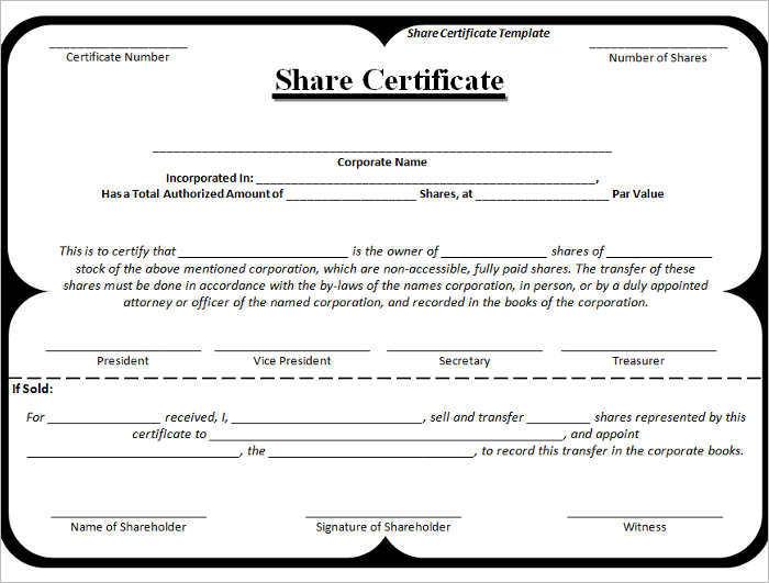 premium-stock-certificate-template-download