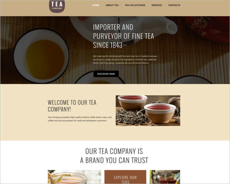 premium-tea-company-html5-website-template