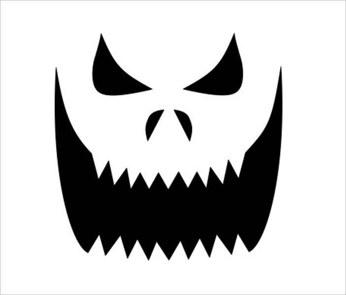 pumpkin-mask-carving-templates