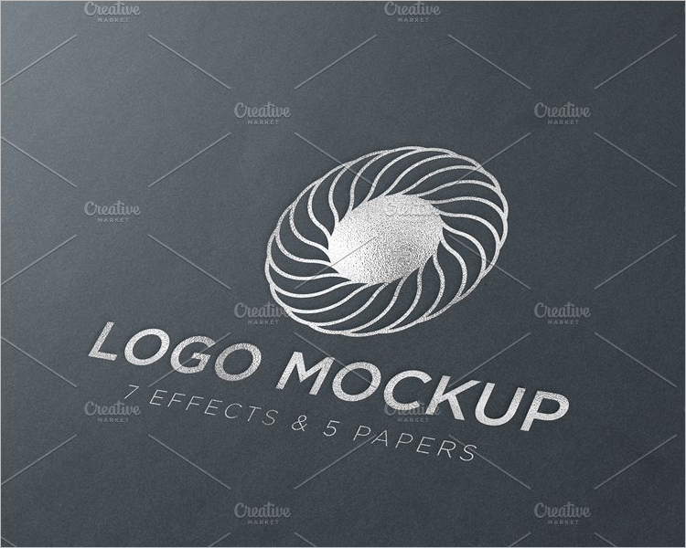 RealisticLogo Mockup Design