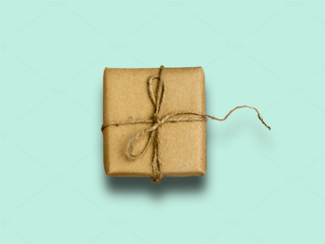 recycled-paper-ribbon-gift-box