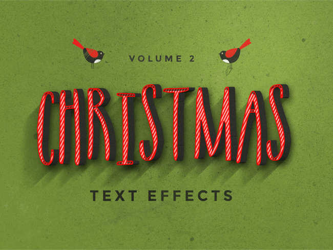 reindeer-text-effect-christmas-textures
