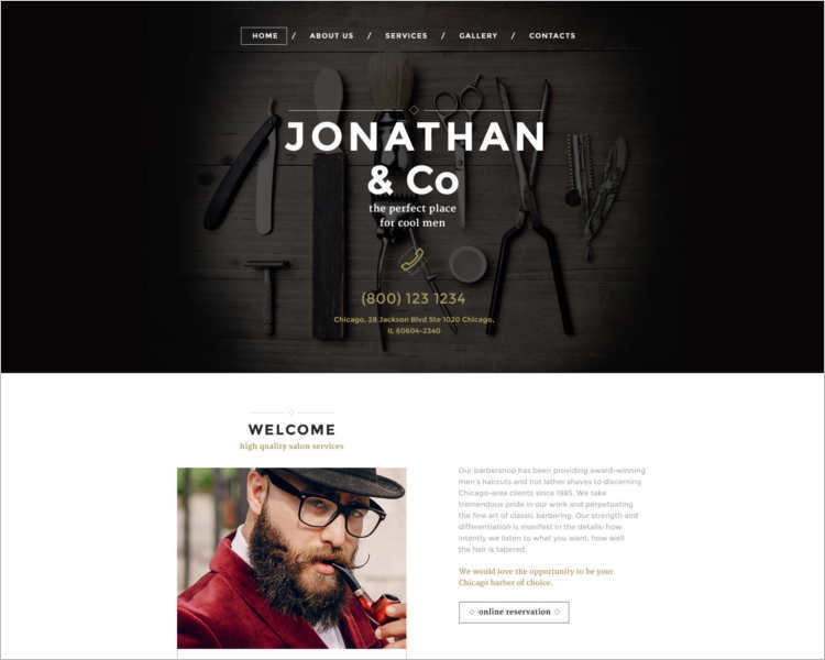responsive-hair-salon-responsive-html5-website-template