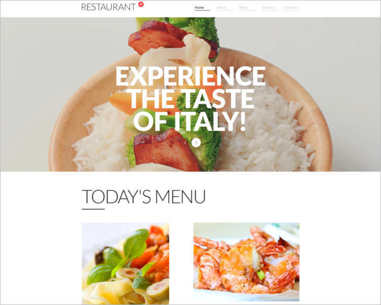 responsive-restaurant-html5-website-template