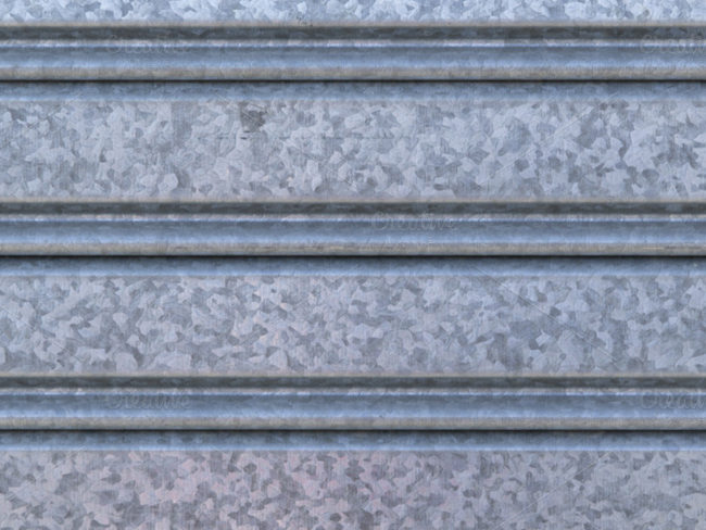 ridged-metal-wall-texture