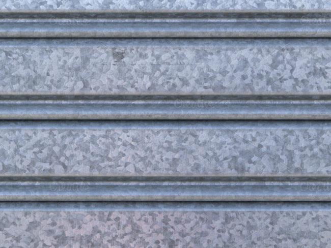 ridged-metal-wall-texture