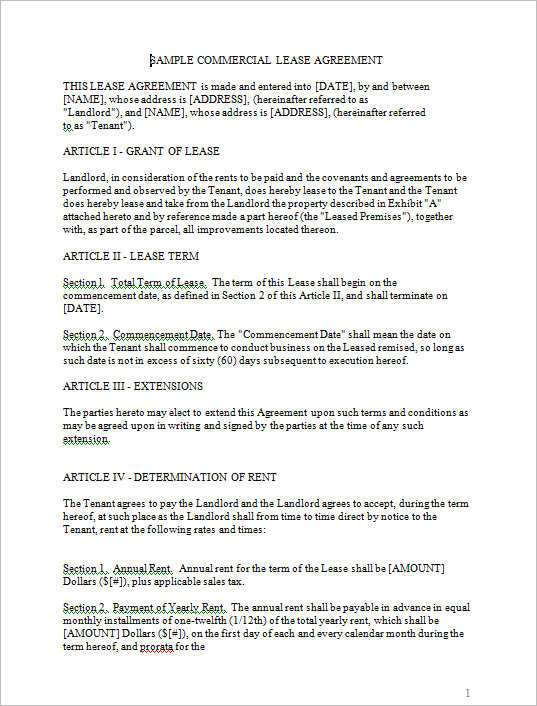 sample-commercial-lease-agreement-template