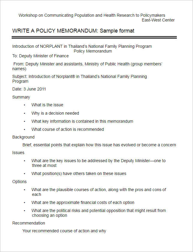 sample-policy-memo-template-form