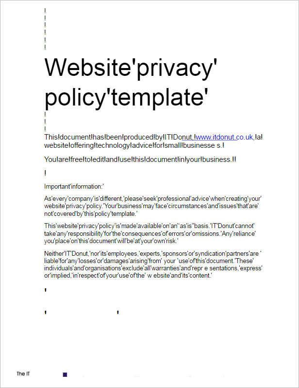 sample-privacy-policy-template