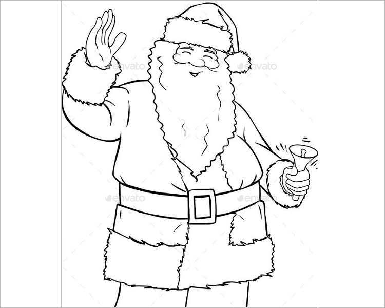 santa-claus-holding-bell-coloring-print-template