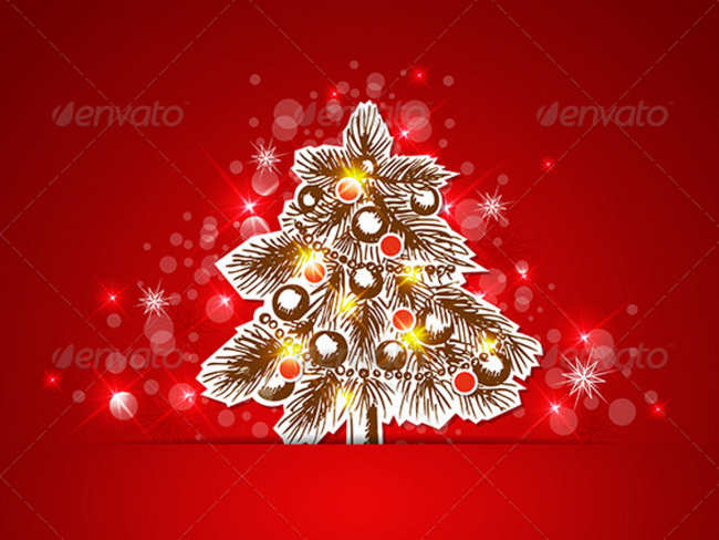 snowflake-christmas-vintage-decoration-tree-ideas