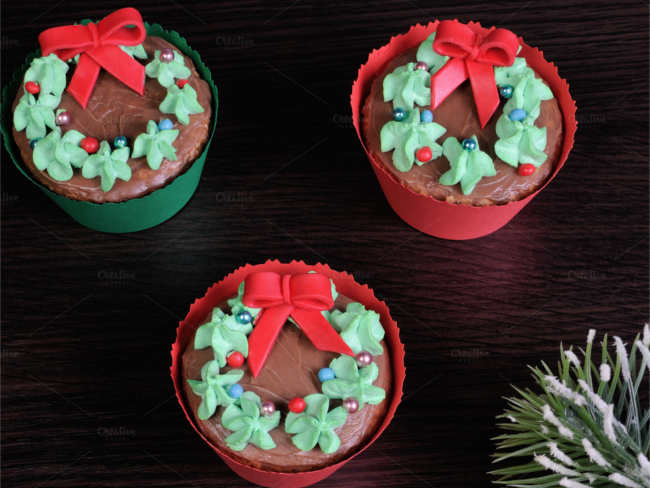 special-christmas-cup-cake-template