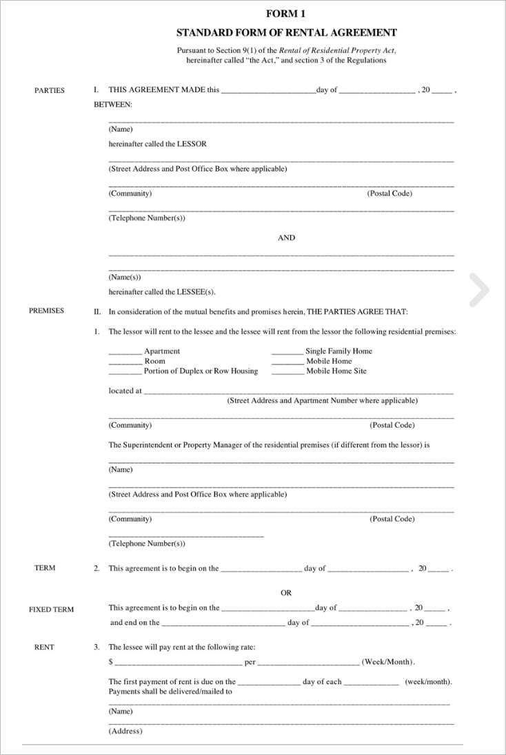 standard-lease-agreement-form-template