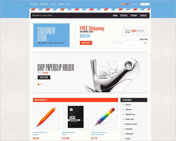 stationary-store-prestashop-theme-template